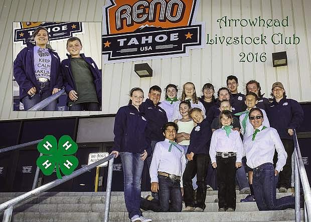 Carson City Arrowhead 4-H Livestock members recently participated in the 2016 Nevada Junior Livestock Show in Reno.