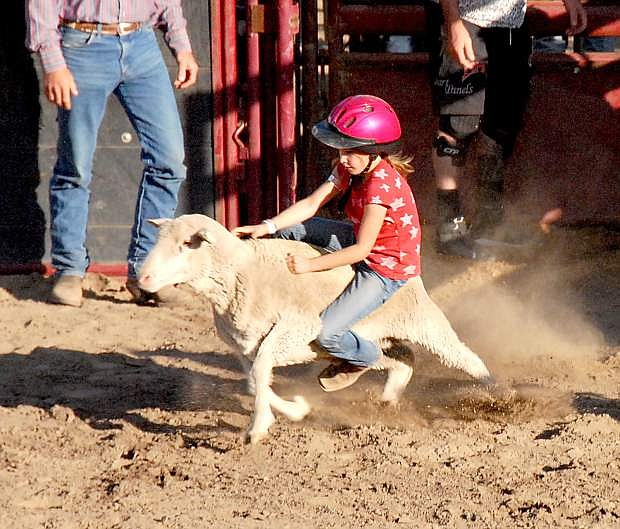 John Petroulis of Carson City shared these photos of the Smackdown Bull Riding event on Saturday.