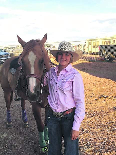 Brynn Lehman finished 14th in the nation in pole bending at the National High School Rodeo Finals in Wyoming last week.