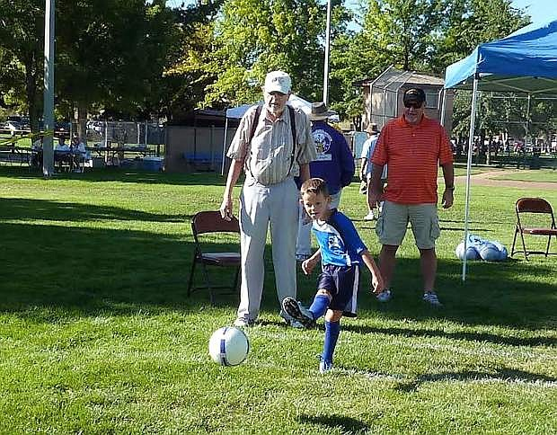 The annual Elks Soccer Shoot Competition is set for Aug. 29 at Lampe Park.