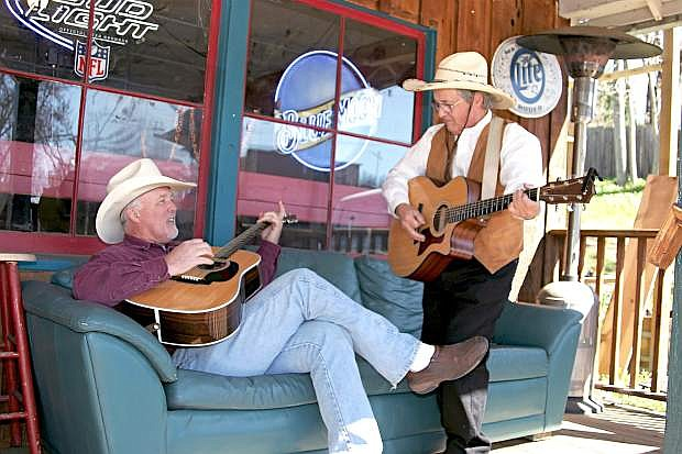 Slade Rivers and Beans Sousa are performing in Markleeville on Saturday.
