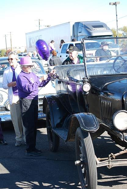 One of the main activities to kick off Domestic Violence Intervention Awareness month, a Rockin Purple Ride will be held.