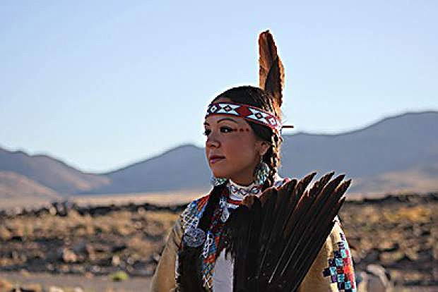 Christina Thomas, a Native American dancer, singer and Paiute language teacher, will be featured in a cultural presentation on Saturday at Dangberg Home Ranch Historic Park in Minden.