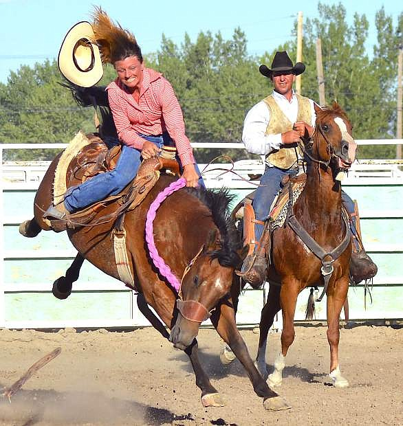 The De Golyer Buckin' Horse and Bull Bash runs Friday and Saturday at the Churchill County Fairgrounds.