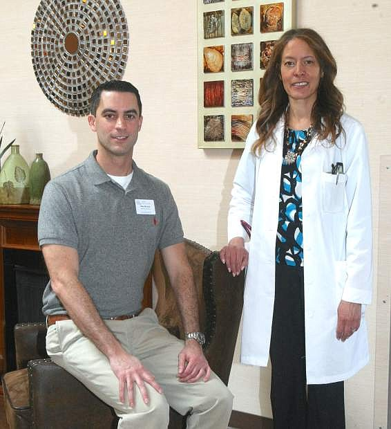 The Ormsby Acute Rehab Center's new management includes Toby De Luca, executive director and physician Jackie Harris.