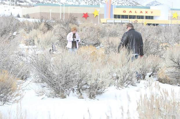 A 53-year-old transient was found dead about 11:40 a.m. Thursday in a sagebrush field at the corner of Clearview Drive and Curry Street.