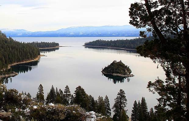 While visitors may flock to Emerald Bay in the winter, area snowshoe options can be a great way to avoid the masses.