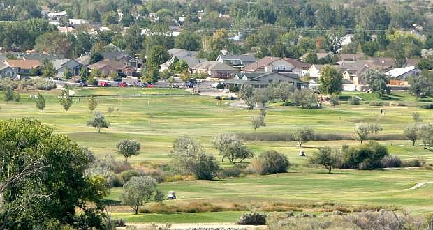 Empire Ranch Golf Course is seen on Tuesday.