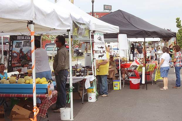 The Fallon Food Hub Fridays Farmers Market continues to grow each Friday afternoon with both local and out-of-town vendors.