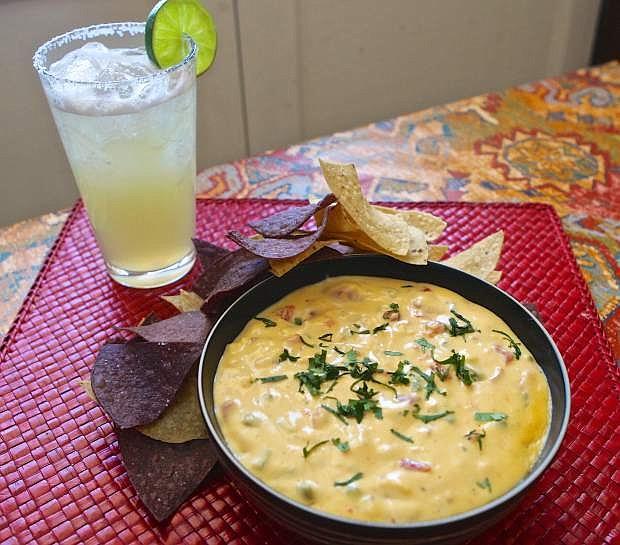Chili Con Queso is on the menu at Cafe Del Rio in Virginia City.