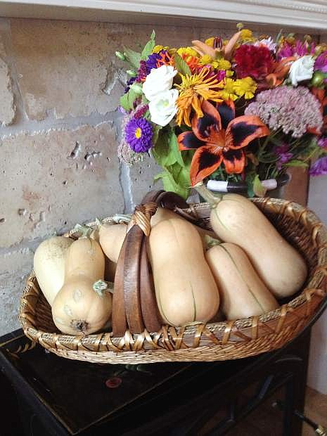 Plenty of butternut squash will be available at the last 3rd and Curry St. Farmers Market on Saturday.