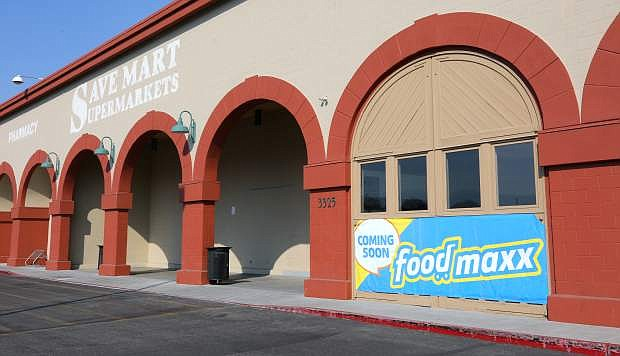 A FoodMaxx store will be opening inNovember in the former Save Mart Supermarkets on Highway 50 East in Carson City.
