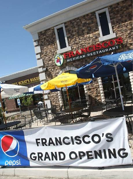 Francisco's Mexican Restaurant in the Carson Mall on Wednesday.