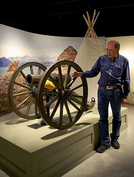 Gene Hattori is seen at the Nevada State Museum, which is set to host a two-day symposium about western explorer John C. Fremont.