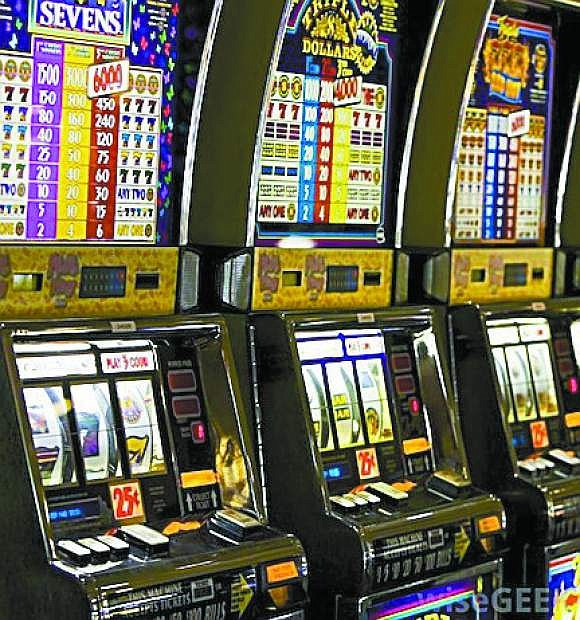 Gaming win was down due to slot machine play.