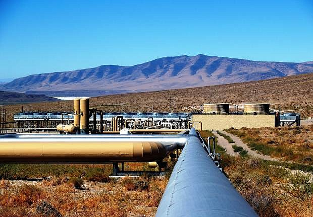 The market for geothermal energy in the United States was stagnanet in 2014.