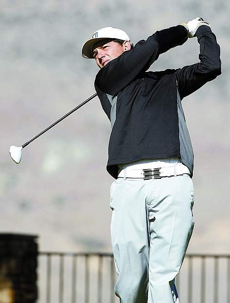 Fallon's Scott Smith qualified for the second stage Web.com Tour in Dayton recently.