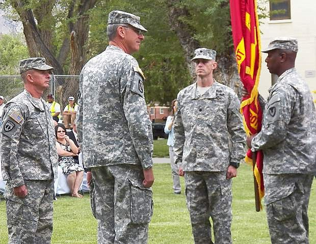 Command Sergeant Major of the Joint Munitions Command,  Anthony