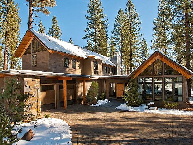 A look at the font yard of the HGTV Dream Home 2014, located at 9269 Heartwood Drive in Truckee, in Schaffer's Mill.