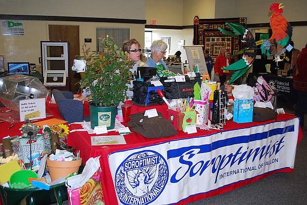 The 16th annual Soroptimist Home, Garden and Recreation show runs this weekend at the Fallon Convention Center.