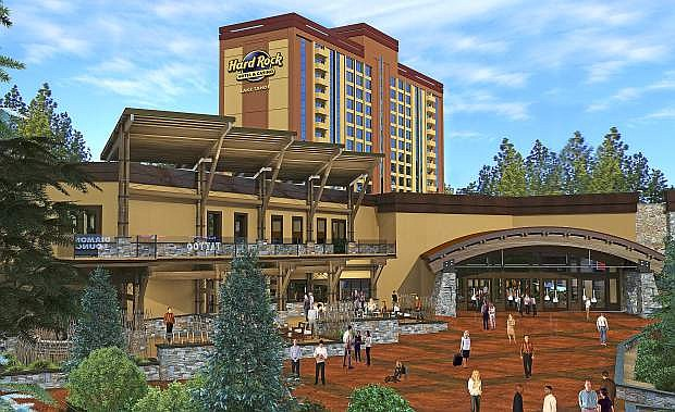 The Hard Rock Hotel & Casino is undergoing an approximately $60 million renovation and redesign.