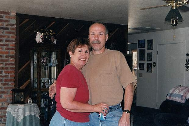 Bob Andrews, pictured here with his wife, Betty, is in need of financial help as he awaits his heart transplant in Florida.