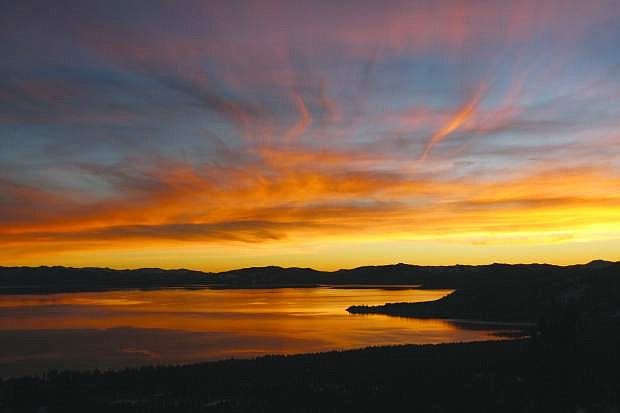 This stunning view of Lake Tahoe is what awaits hikers on the Tahoe Rim  Trail just above Incline Village.