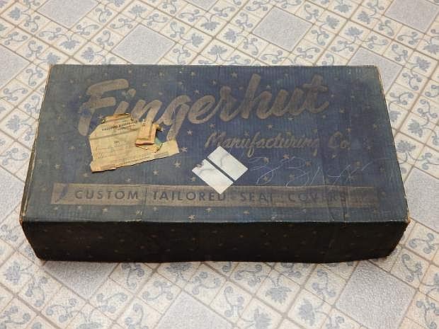 The treasured blue box.