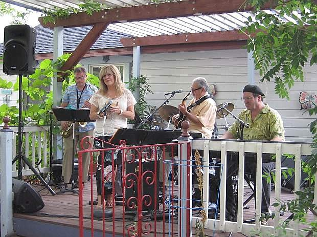 Cherie and John Shipley with Take This will open the Jazz & Beyond Carson City Music Festival Aug. 7 at the Bliss Mansion.