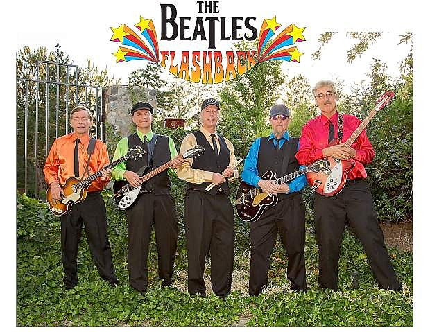 The Beatles Flashback concert begins at 7 p.m. Aug. 6.