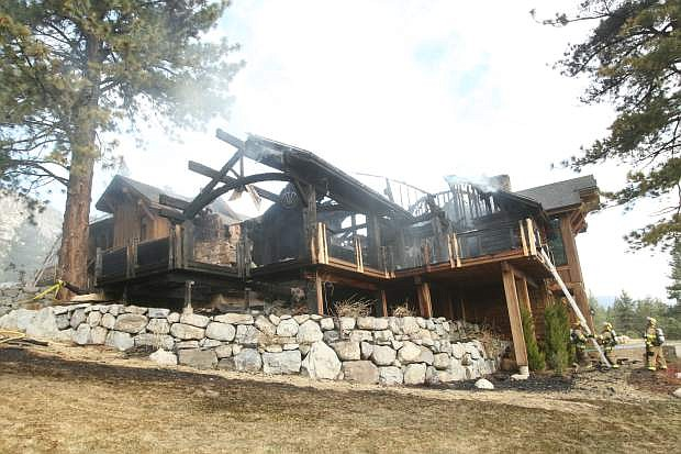 A home on Natures Edge suffered major damage in an early morning house fire  Tuesday.