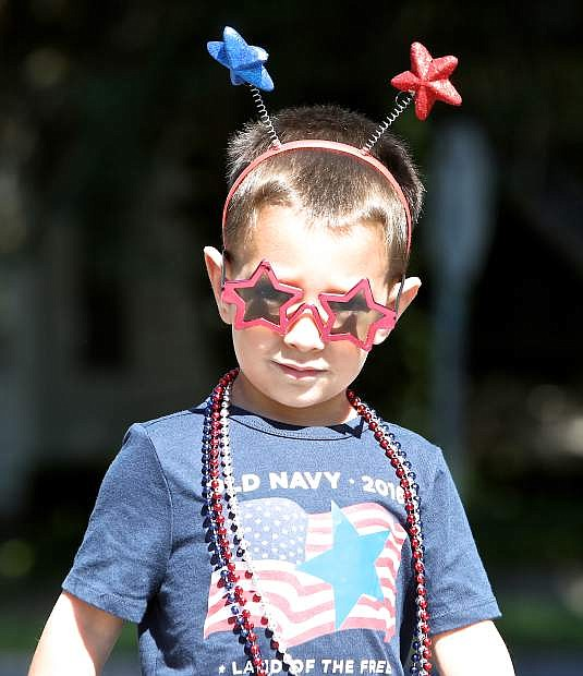 Independence Day is serious business at Kinderland.