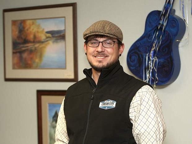 Kyle Horvath is the new president of the board of directors for the Brewery Arts Center.
