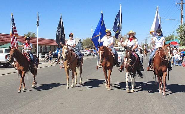 The Fallon Horseman's Association was best mounted group.
