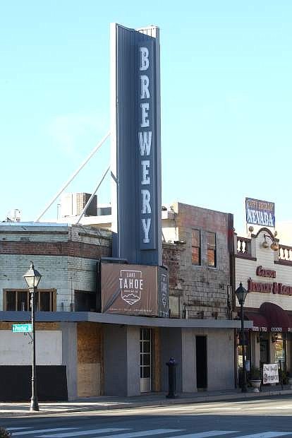 The Tahoe Brewery Company will be opening in downtown Carson City during the coming winter.