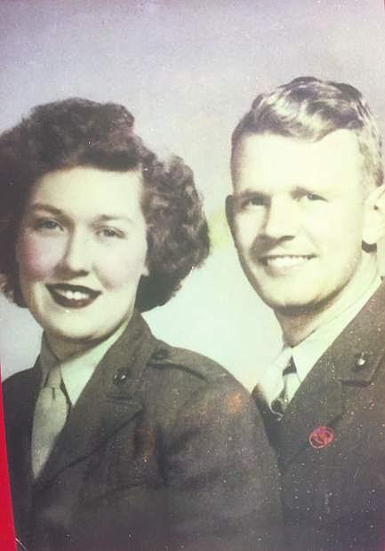 Arlene and Henry Batis, 1945.