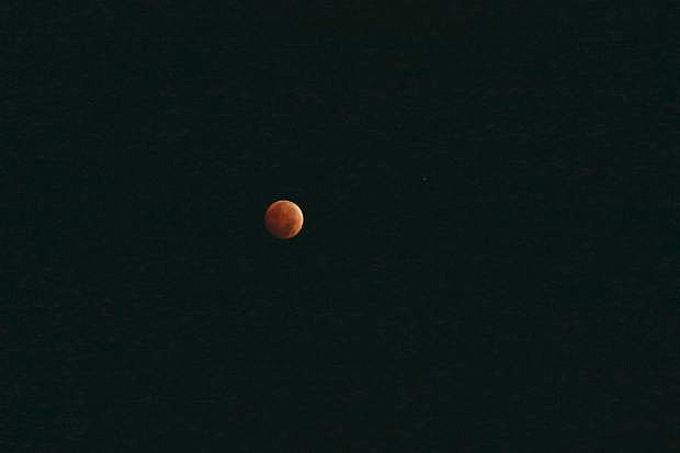 A total lunar eclipse of the moon can be seen from Carson City early Wednesday morning.