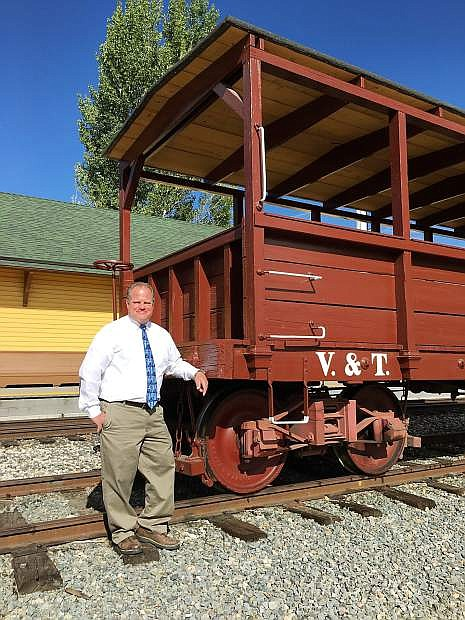 Dan Thielen is the new museum director of the Nevada State Railroad Museum.