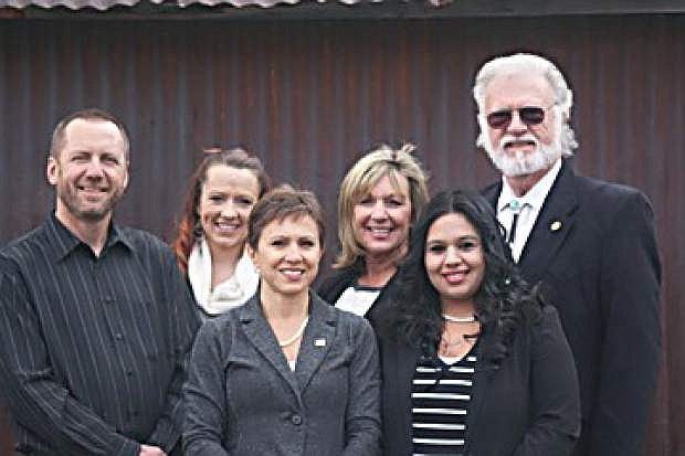 Launching NAI Alliance Carson City are, from left, Brad Bonkowski, Amber Cullen, Andie Wilson, Cheryl Evans, Ale Avila and Rick Terrin.
