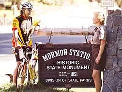 Appeal photoBike tours will take on an historic turn during the first Comstock Sierra Historical Tour Aug. 10-12 beginning at Mormon Station