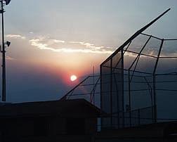 photo Kurt HildebrandA photo of the sun going down in Carson City on Thursday taken from the Edmonds Sports Complex.