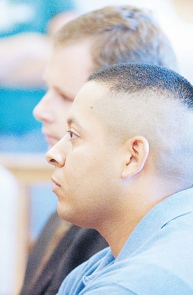 Former Dayton High School coach Desi Navarro appeared in Dayton Justice Court Thurs.