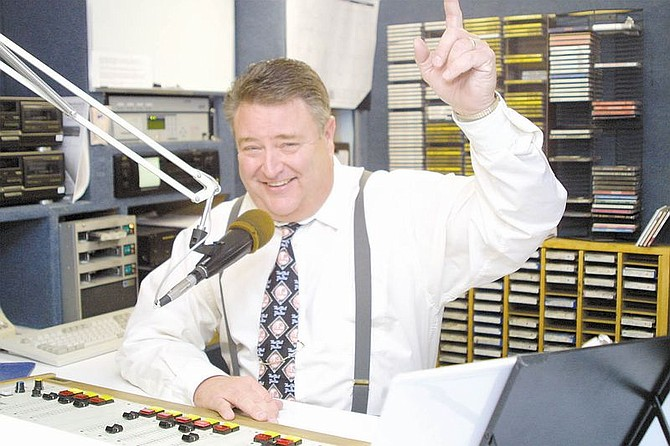 """Ken Haskins, the """"Rockin' Rev,"""" will be back on the air at KPTL Friday afternoon."""