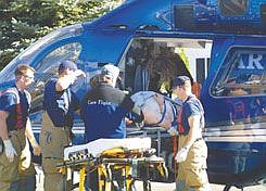 Cathleen AllisonCarson City Fire Department and Care Flight apparently self-inflicted gunshot wound into a Care Flight helicopter for transport to Reno. The man appears to have shot his ex-wife, then self.