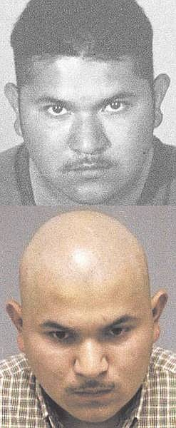 Arreguin-Perez, with and without hair.