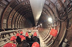 Members of the Northern Nevada Development Authority toured the Yucca Mountain Project Thursday.  The group was informed with general information and an overview of the site.