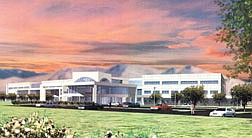 The new Regional Medical Center being built by Carson-Tahoe Hopsital is scheduled to break ground this June.  The $132 million project will be a 338,000 square-foot, state-of-the-art facility.