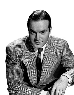 **FILE**Comedian Bob Hope is shown in this 1943 photo.  Hope died late Sunday July 27,  2003, at his home in Toluca Lake,Calif. He was 100.(AP Photo/Paramount)