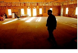 Rick Gunn/Nevada Appeal Kevin Stansbury, chief operating officer of Carson-Tahoe Hospital, walks through one of the rooms under contruction for the C-TH Dayton Professional Building.