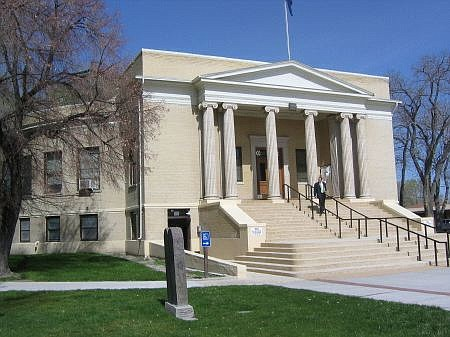Richard Moreno/special to the appeal The round Pershing County Courthouse, built between 1919 and 1920, is just one of several dozen historic buildings found in Lovelock.